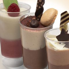 Gourmet Food Mall - Galaxy Desserts - Mousse Duos Sampler