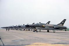 Happy Days! F-105s at Lakenheath, 1976. Photographed by Stuart Freer
