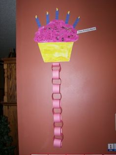 Birthday countdown craft We used this when I was a kid, Nice to see again
