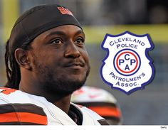 Cleveland Browns -- Police Threaten to Pull Protection Over Player's Dead Cop Post - http://blog.clairepeetz.com/cleveland-browns-police-threaten-to-pull-protection-over-players-dead-cop-post/
