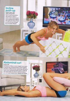 Erica Durance workout routine