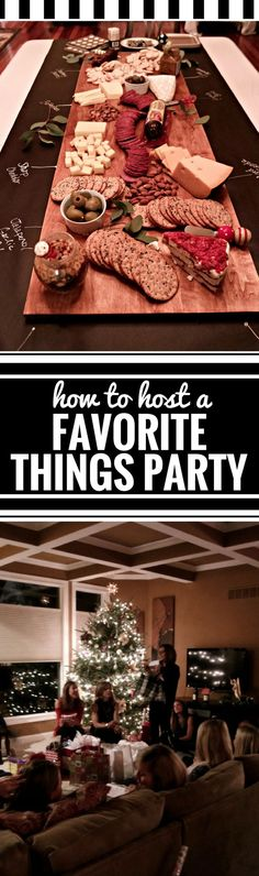 Thinking about hosting a Favorite Things Party? From themes to instructions and all sorts of ideas, you'll love how easy it is to host one. Whether you have it at Christmas or any time of year, you'll want to follow these steps to keep it super simple. Have fun!
