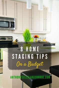 Staging your home is an affordable and important step in selling your home quickly and for the best price. If you are on a tight budget, there are many simple ways to stage your home at little or n…
