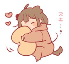 Sticker obediently – LINE stickers Oc Drawings, Kawaii Drawings, Cute Drawings, Chibi Couple, Anime Family, Little Doodles, Cute Art Styles, Anime Couples Drawings, Cute Anime Pics