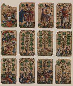 Peter Flötner | Suit of Leafs, from The Playing Cards of Peter Flötner | German | The Met