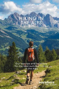 There are so many great destination for hiking in the Alps. But should you head to the Dolomites, the Tyrol, the Swiss or French Alps? Here are our recommendations for hiking in the Alps in summer. Europa Tour, Hiking Training, Hiking Places, Hiking Europe, French Alps, Hiking Tips, Hiking Routes, Adventure Photography, Best Hikes