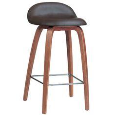 Bent Wood Counter Stool
