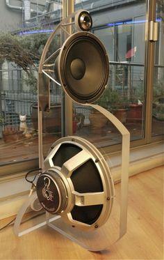 Zanimivi zvočniški koncepti - Page 7 Open Baffle Speakers, Diy Speakers, Built In Speakers, Stereo Speakers, Woofer Speaker, Horn Speakers, Audiophile Speakers, Hifi Audio, Car Audio