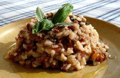 Helppo metsäsienirisotto Kombucha Recipe, Kombucha How To Make, Asian Slaw, Red Cabbage, Quinoa Salad, White Beans, Couscous, Tofu, Kale