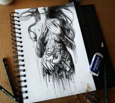 Sketchbook 2013 (Vol. 3) by PEZ Λrtwork, via Behance