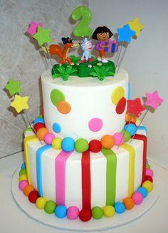 dora fondant cake | Cake Gallery :: Birthday Cakes :: june_cakes_022