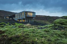 The Ion Luxury Adventure Hotel in Iceland is the only hotel in the world situated atop two tectonic plates.