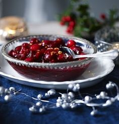 For best results make this simple cranberry sauce a few days in advance to let the flavours mingle. You can also add a little port, if liked