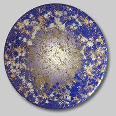 "Courting Kaos: Shadows of a Sapphire Dream  Benini 2010 46"" diameter  #Benini #style #instadaily #arte ##contemporaryart"
