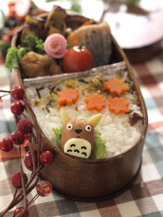 Fall Themed Bento Box