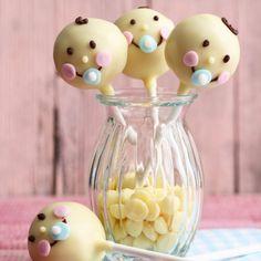 Puller-Party, Taufe oder Babyshower - mit diesen süßen Cake-Pops macht man ganz sicher jeder Mutter eine Riesenfreude.