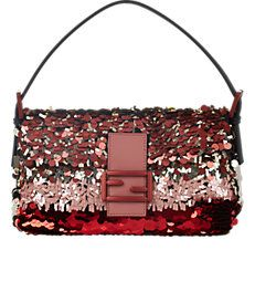 33c6021d3926 Fendi Sequin Baguette Bag Red Shoulder Bags