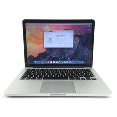MacBook Pro Retina 13 inch. In zeer fraaie staat, geen waarneembare gebruikerssporen, bodemplaat gebruikelijke krasjes, 2.6Ghz i5 processor, grote SSD, compleet in doos met toebehoren! Met 24 maanden garantie, nu voor 1149,- #ikfix #macrepair #macbook #retina #SSD #Garantie #apple