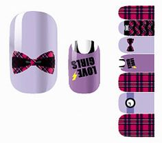 1 Sheet Marvelous Popular Hot Nail Art Wraps Sticker Varnish Kit Manicure Tools Self Adhesive Fashion Pattern NO.35 *** You can get more details by clicking on the image.