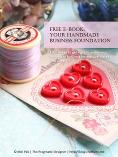 Free ebook: Your Handmade Business Foundation to success and more sales