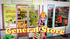 oh my word this girls videos are AWESOME! she shows you how to make all kinds of diy barbie and doll furniture and accessories!! Barbie Dream, Barbie House, Barbie Food, Barbie Stuff, Doll Stuff, Ag Dolls, Barbie Dolls, My Froggy Stuff Videos, Myfroggystuff
