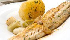 Receta de Perlón con patatas al pimentón