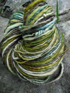 Reserved for Brookwood-Handspun yarn, handpainted yarn, Rambouillet wool, worsted yarn multiple skeins available-TREEBEARD