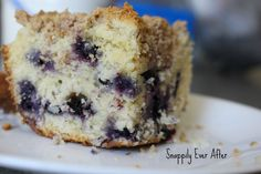 Snappily Ever After: Blueberry Buckle - Create a Fruity Dessert