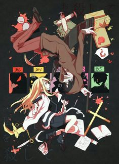 """Read [Angel of Death][RPG Horror] from the story [Game Doujinshi + Manga][RPG Horror] """"Angel of Death"""" by Sugar_Sugary (. Me Anime, Anime Love, Anime Art, Rpg Maker, Corpse Party, Angel Of Death, Fanart, Manga Angel, Magic Anime"""