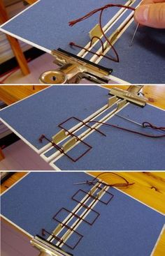Secret Belgian Binding (instructions in Japanese, but with helpful pictures)