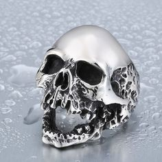 Beier Unique Original Style Skull Ring For Man Stainless Steel Punk Man s  High Quality Personality Men s Ring d15b483c7b8