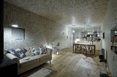 Maison contemporaine conçue par l'architecte Takuya Tsuchida à Nagoya, au Japon.
