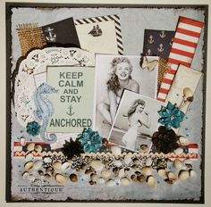 Stay anchored layout