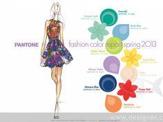 color pallettes for summer 2013   Pantone Colour Trends for Spring/Summer 2013   ADONE Magazine