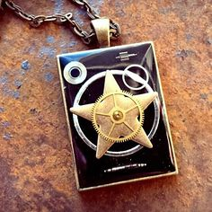 The Starman Pendant by ColdGarageCreations on Etsy