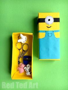 Minion Paper Box Cra