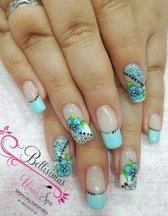 Wow Nails, Pretty Nails, Colorful Nail Designs, Nail Art Designs, Nail Pops, Pedicure Designs, Nails Inspiration, Summer Nails, Polish