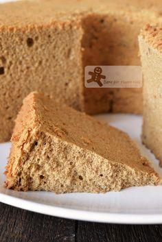 Bake for Happy Kids: Ultra Silky Smooth Spongy Coffee Milk Chiffon Cake Coffee Chiffon Cake Recipe, Chocolate Chiffon Cake, Coffee Sponge Cake, Coffee Cake, Ogura Cake, Baking Recipes, Dessert Recipes, Baking Tips, Cotton Cake