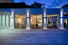 #ETY, villa #Eternity. Deck living at the sunset
