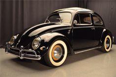 1957 VW Beetle. Want!