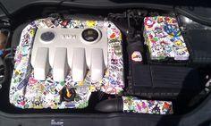 #stickerbomb Sticker Bomb, Cool Stickers, Cars, Future, Future Tense, Vehicles, Autos, Automobile, Car