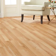 Home Decorators Collection Santa Fe Maple in. W Luxury Vinyl Plank Flooring sq. / - The Home Depot Luxury Vinyl Flooring, Vinyl Plank Flooring, Luxury Vinyl Plank, Kitchen Flooring, Wood Flooring, Plywood Floors, Tile Wood, Kitchen Cabinets, Real Wood Floors