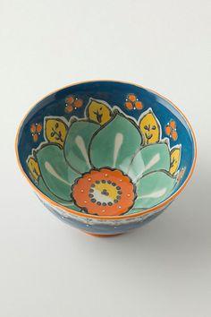 ceramic bowl from anthropologie