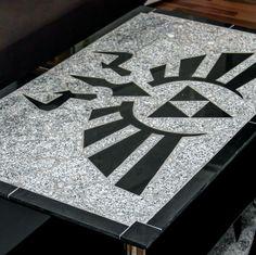 Zelda Tischplatte aus Granit