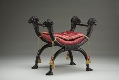 X-Frame Stool | The Museum of the Shenandoah Valley..X-Frame Stool Date: 1805 - 1815