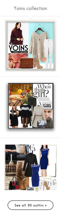 """""""Yoins collection"""" by dzena-05 ❤ liked on Polyvore featuring yoins, Warehouse, Joules, Jessica Simpson, Diane James, DENY Designs, Allstate Floral, Envi, American Eagle Outfitters and New Growth Designs"""