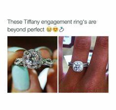 Tiffany's engagement rings