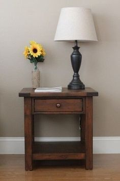 Benchwright end table | Do It Yourself Home Projects from Ana White