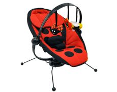 Pod Bouncer- Ladybug, Baby loved this and I loved having it sit in my living room