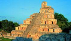 Yucatan Edzna Ruins -  Mexico